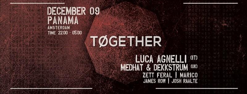 'Together' organiseert techhouse en techno evenementen